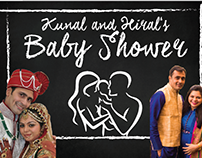 Hiral & Kunal's Baby Shower Personalized Book