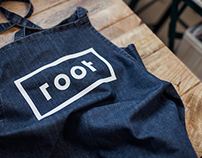 Root. Pop-up health food store.