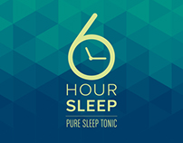 6 Hour Sleep - branding & packaging