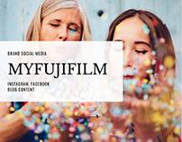 Brand Social Media - myFUJIFILM
