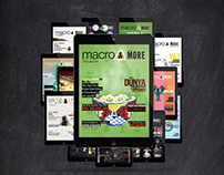 Macro&More - Interactive Tablet Magazine