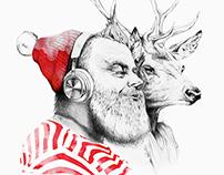 Christmas album - art commission