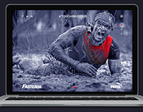 TOUGHMUDDER Microsite Design