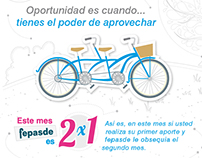 Campaña Fepasde 2x1