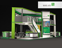 Warif real estate - exhibition booth in ksa 2016