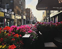 Dublin City Early Evening Light