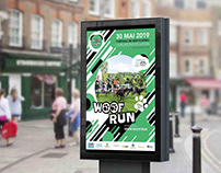 Affiche Woof Run 2019