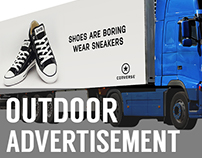 Truck Mockup PSD (Outdoor Advertisment)