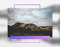 Video Player - #DailyUI #057
