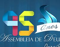 Vinheta 95 anos Assembléia de Deus