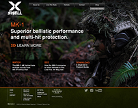 X Shell Helmets Web Site Development