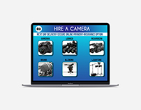 Hire a Camera Web Template