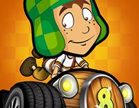 Chavo Kart Mobile Game UI