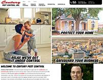 CPC - pest control web design