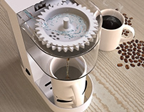 Rotation Automatic Coffee Maker