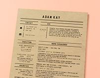 personal branding: adam kay