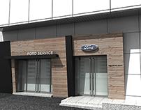 Ford Service center in Seoul(Sun-In motors) Design