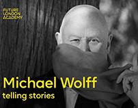 Graphic Design legend Michael Wolff Telling stories