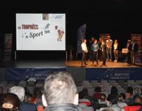 Graphisme / Événementiel - Trophées du Sport