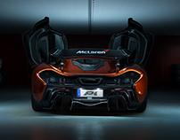 McLaren P1 - Photography
