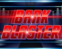 Logo / title treatment:  Bank Blaster