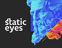 ☝ static eyes ☝ 90 days, 90 posters.