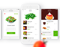 Your Healthy Meals - Food Ordering iOS App