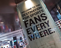 Real Sports Apparel Store Signage