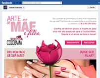 Aplicativo no Facebook para Dia das Mães Colorama