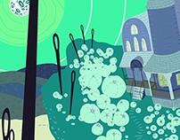 Digital Illustration: Environment Concept