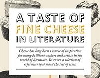 A Taste of Fine Cheese in Literature