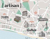 Hove Artisan Apartments Map