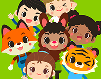 Character Design: 'Kids' and 'Cubs'