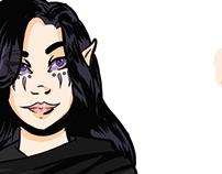 Character Design: Sylwyn