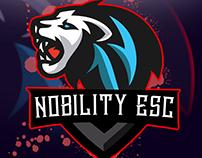Lion eSport logo (Nobility ESC)