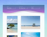 Daily UI - Day 11: Beach Guide