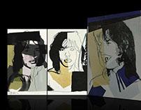 Andy Warhol. Multimedia exhibition.