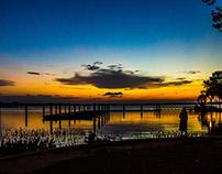 LANDSCAPE PHOTOGRAPHY MOUNT DORA LAKE. FL. EE.UU