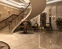 Luxury  Lobby Hall