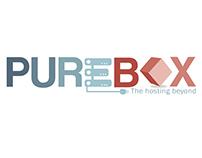 Designed logo for pure box