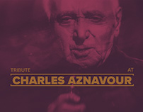 CHARLES AZNAVOUR TRIBUTE