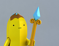 LEGO Banana Guard minifig