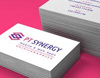 PT Synergy - UI Design Company Brand