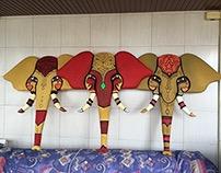AUB Outdoors: Styrofoam Elephants