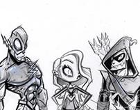Superhero Commission (stylized)