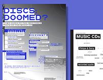 DISCS DOOMED?
