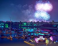 NYE Fireworks - Dubai 2018