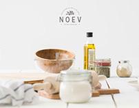 Noev - olive oil shop, branding
