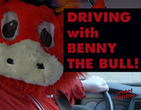 Driving w Benny the Bull - Sketch Comedy