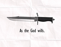 As the God wills.